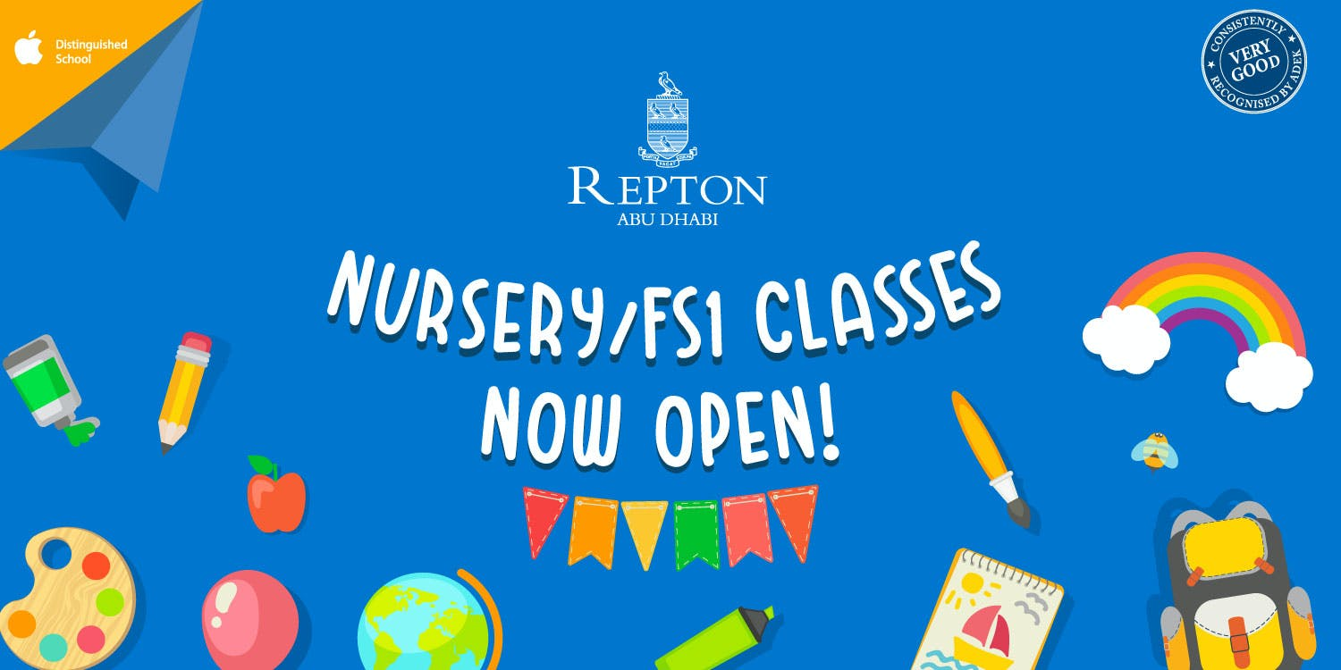 Repton Abu Dhabi opens FS1 classrooms from Sunday, 6th September 2020